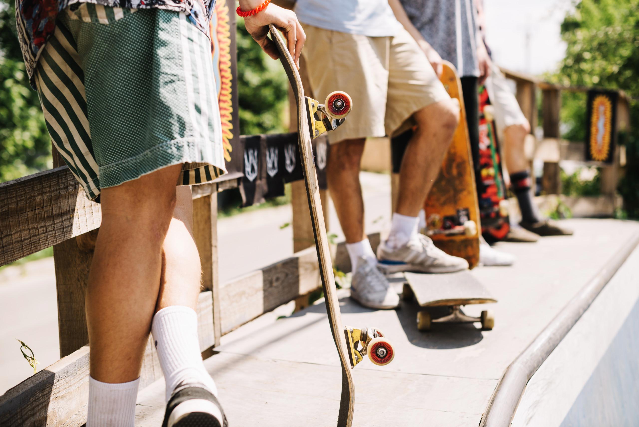 スケーターに人気の靴下